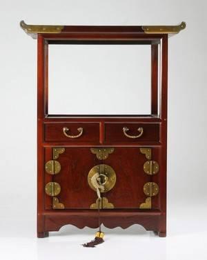 Sängbord, Kina, av senare datum