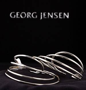 b61c78a3ce3 Allan Scharff for Georg Jensen. `Alliance´ øreringe af sterlingsølv