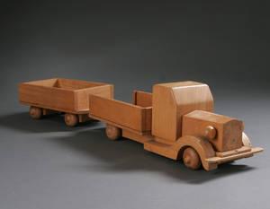Kay Bojesen 1886-1958 Lastbil med anhænger 2
