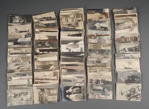 Gamle postkort med danske skuespillere