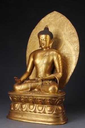 Kinesisk Buddha, Chien Lung 1736-1795
