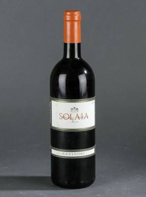 1 flaske Antinori Solaia 1990