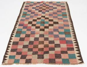 Matta, flatvävd, Harsin-Kelim, 192x122 cm