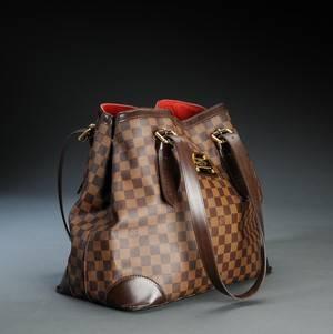 Louis Vuitton. Hampstead  GM skuldertaske.