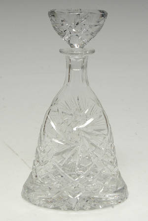 Håndsleben krystalkaraffel,