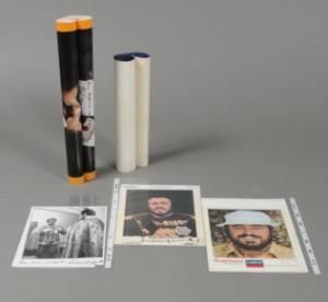 Luciano Pavarotti. Samling foto og plakater med autografer. 8
