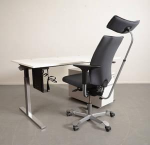 Skrivbord, hurts  kontorsstol 3