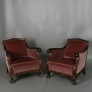 slutpris f r f t ljer i chippendale stil ett. Black Bedroom Furniture Sets. Home Design Ideas