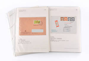 PHILATELIE. Konvolut von 22 Stück Ganzstücke, Ersttagsbriefe aus 1970er und 1980er Jahre.