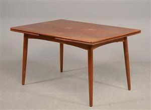 Dansk møbelproducent Spisebord, teaktræ