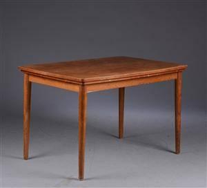 Dansk Møbelproducent. Spisebord af teak, hollandsk udtræk