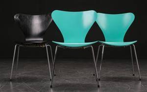 Arne Jacobsen. Tre syver-stole, model 3107 3