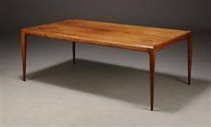 Johannes Andersen, sofabord, palisander