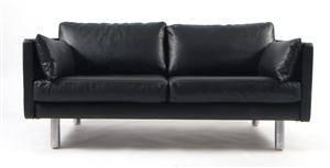 Erik Jørgensen. Fritstående to-personers sofa, model EJ 220.