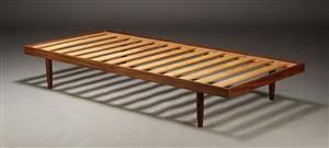 Dansk møbelproducent. Daybed  briks, teaktræ