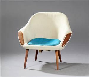 Ubekendt møbelarkitektproducent 1960-erne, hvilestol
