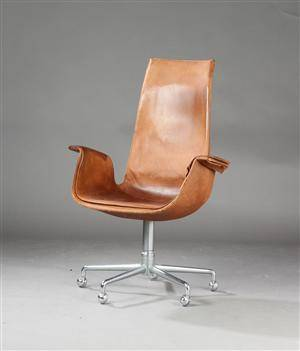 Preben Fabricius  Jørgen Kastholm. Tulip chair, model FK 6725