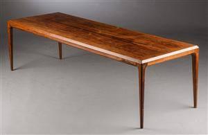 Johannes Andersen. Sofabord af palisander