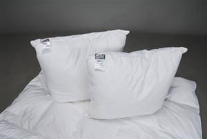 Komplet øko-tex-mærket dynepakke med gåsedunsdyner og betræk af ægyptisk bomuld, KEOPS® Collection, farve sand 9
