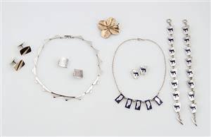 Skat-Rørdam m.fl. En samling sølvsmykker 10
