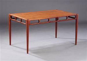 Ubekendt dansk møbelarkitektproducent 1960-erne, sofabord af teaktræ