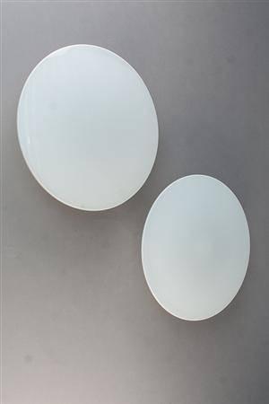 Arne Jacobsen. To Eclipta væglamper 2