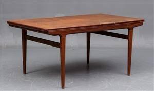 Slutpris för Johannes Andersen. Spisebord