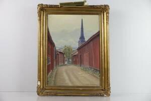 DAVID SÖDERHOLM 1883-1961, olja