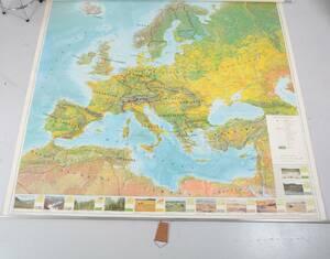 Gammal skolkarta, Europa