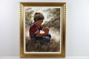 FOLKE LARSSON, oljemålning
