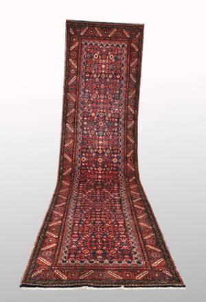 Persisk Hamadan, 408 x 105 cm