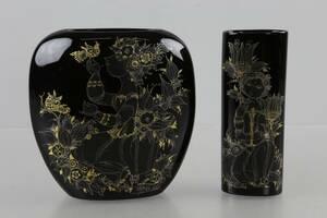 BJÖRN WIINBLAD, vaser, 2 st, Studio Line, Rosenthal