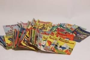 serietidningar kalle anka  Co 91an Dennis mm 1950-1960 tal