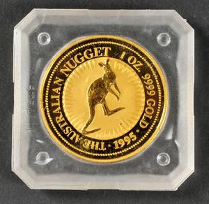 Australien. 100 dollars guldmønt 1995