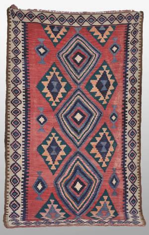 Persisk Nomadkelim, 240 x 140 cm