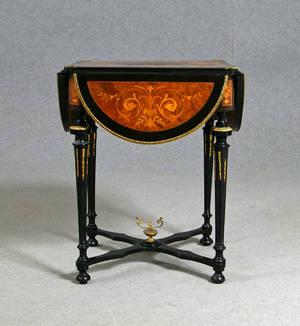Klaffbord, 1800-tal, nyrenässans