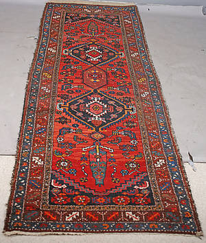 GALLERIMATTA, orientalisk, ull. 99x284 cm.