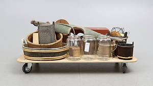 ALLMOGEFÖREMÅL, 1800-1900-tal.