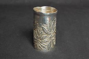 VAS, silver, stämplad Lars Arby, Göteborg, 1976, vikt 124 g.