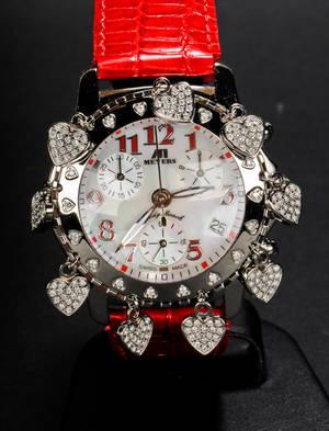 Meyers, Lady Beach Chronograph watch, model Valentin