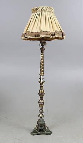 GOLVLAMPA, barockstil, 1900-tal.