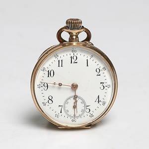 MORMORSUR, 14k guld, 1900-tal. Bruttovikt 32 gram.