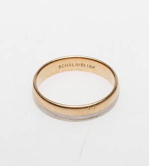 RING, 18k guld, vikt ca 6,2 gr.
