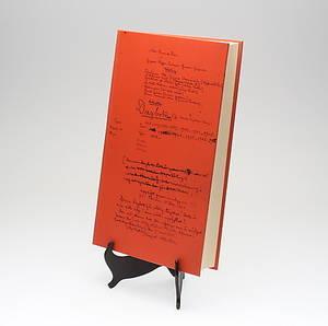 BOK, Ockulta dagboken av August Strindberg, faksimil, Gidlunds 1977.