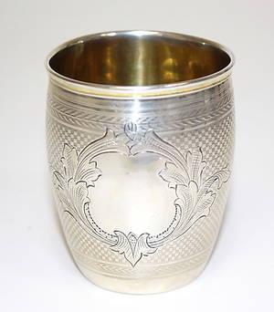 MUGG, silver, Wernerisa, 1876, Ryssland.