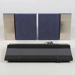 BANG  OLUFSEN, Stereo med högtalare, 3 delar, Beocenter 8000, 1990-tal.