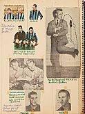 Autografer 1950-tal Puskas, Nacka  Sportauktion