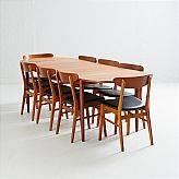 Matgrupp teak Farstrup samt dansk möbelproducent
