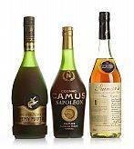 Mixed lot Old Cognac VSOP - Napoléon