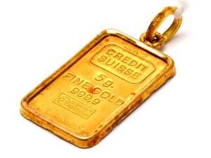 Hänge guldtacka Credit